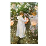 Sargent Carnation Lily Rose Postcards (Package of