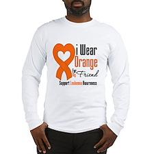Leukemia I Wear Friend Long Sleeve T-Shirt