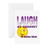 Laugh at Cancer Greeting Cards (Pk of 20)