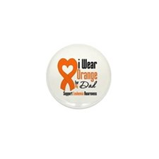 Leukemia Dad Mini Button (10 pack)