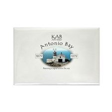 KAB Radio Antonio Bay Rectangle Magnet (10 pack)