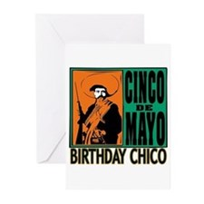 Cinco de Mayo Birthday C Greeting Cards (Pk of 10)