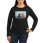 Sisters Women's Long Sleeve Dark T-Shirt