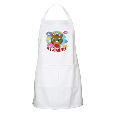 It's Snowtime! BBQ Apron
