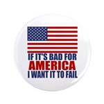 """I want it to fail 3.5"""" Button (100 pack)"""
