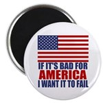"""I want it to fail 2.25"""" Magnet (100 pack)"""