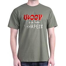 WOOF Shar Peis T-Shirt