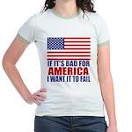 I want it to fail Jr. Ringer T-Shirt