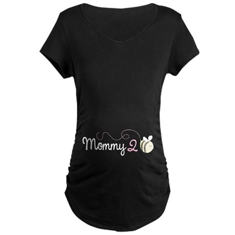 Mommy To Bee Maternity Dark T-Shirt