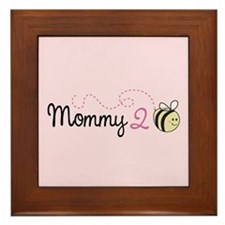 Mommy To Bee Framed Tile