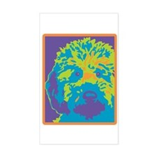 Labradoodle - Rectangle Decal