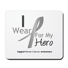 Gray Ribbon Hero Mousepad
