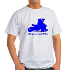 yamaha blue kill your sportbi Camisetas