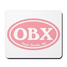 OBX Pink Outer Banks Mousepad