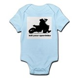 kill your sportbike Infant Bodysuit