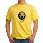 AMERICAN PIT BULL TERRIER Yellow T-Shirt
