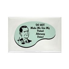 Patent Attorney Voice Rectangle Magnet (10 pack)