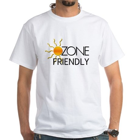 Ozone Friendly White T-Shirt