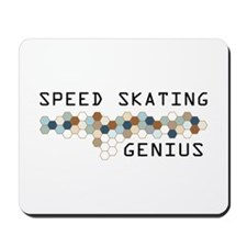 Speed Skating Genius Mousepad