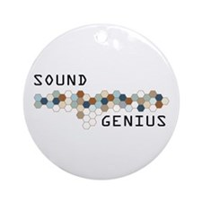 Sound Genius Ornament (Round)