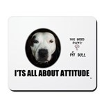 AMERICAN PIT BULL TERRIER Mousepad 