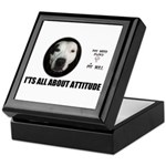 AMERICAN PIT BULL TERRIER Keepsake Box