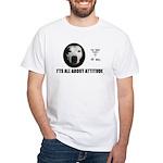 AMERICAN PIT BULL TERRIER White T-Shirt