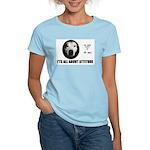 AMERICAN PIT BULL TERRIER Women's Pink T-Shirt