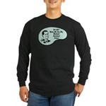 Medical Assistant Voice Long Sleeve Dark T-Shirt