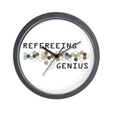 Refereeing Genius Wall Clock