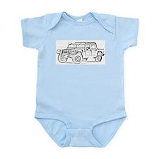 Hummer #1 Infant Creeper