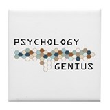 Psychology Genius Tile Coaster