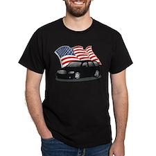 USA HHR Black T-Shirt