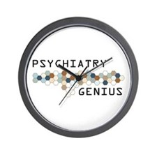 Psychiatry Genius Wall Clock