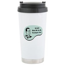 Investigator Voice Ceramic Travel Mug