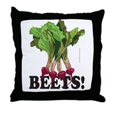 BEETS! Throw Pillow