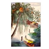 """Tropical Getaway"" Postcards (Package of 8)"