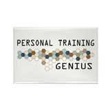 Personal Training Genius Rectangle Magnet