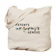 Patents Genius Tote Bag