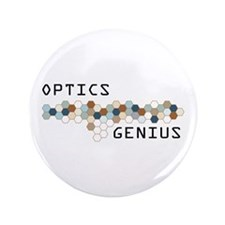 "Optics Genius 3.5"" Button"