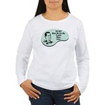 English Major Voice Women's Long Sleeve T-Shirt