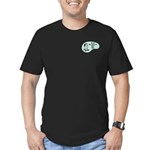 English Major Voice Men's Fitted T-Shirt (dark)