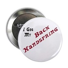 I Got My Back Handspring Button