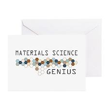 Materials Science Genius Greeting Cards (Pk of 20)
