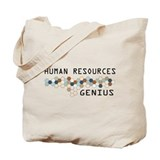 Human Resources Genius Tote Bag