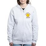 Class Of 2025 Logo Women's Zip Hoodie