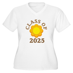 Class Of 2025 Logo Women's Plus Size V-Neck T-Shir