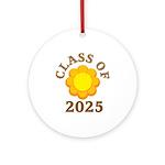 Class Of 2025 Logo Ornament (Round)