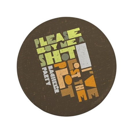 "Retro Lost the Plot 3.5"" Button (100 pack)"