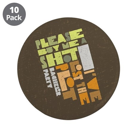 "Retro Lost the Plot 3.5"" Button (10 pack)"
